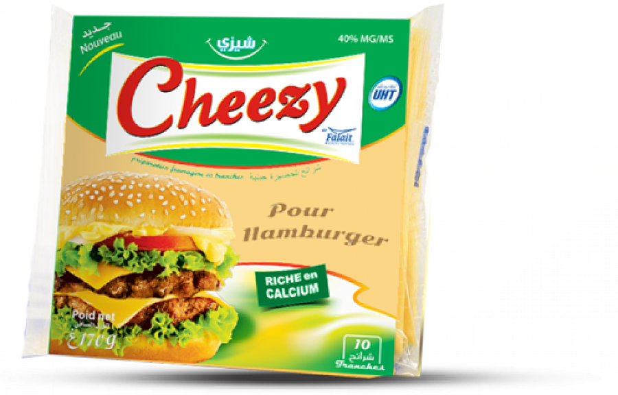 Slices Cheezy Hamburger